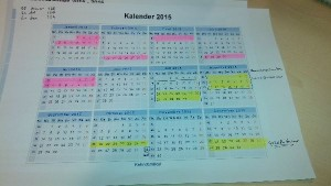 Verlofkalender